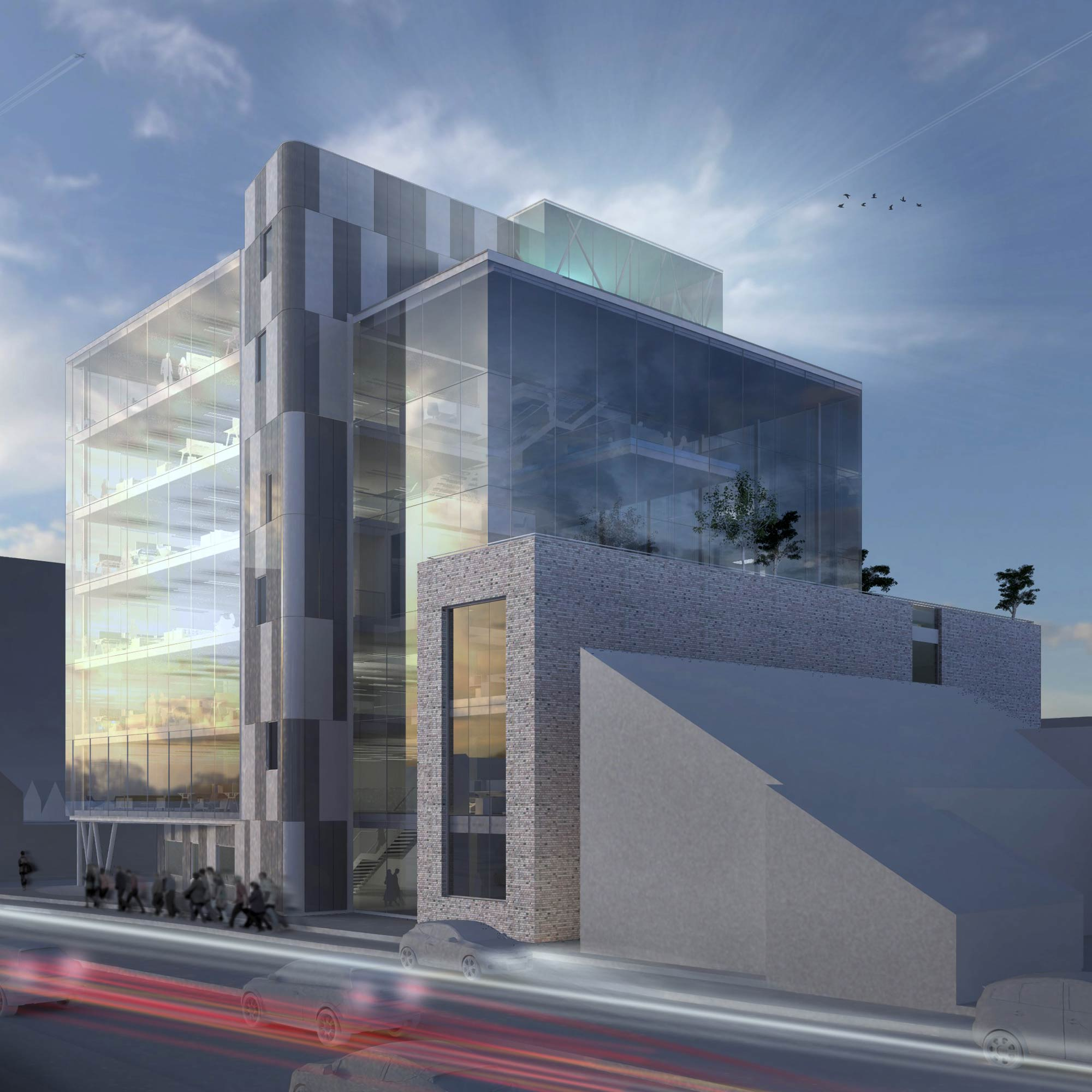 Commercial Architecture Visualisation