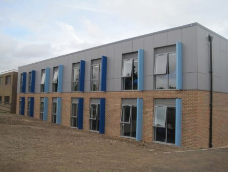 Completion – Classroom building block completed in Hampshire