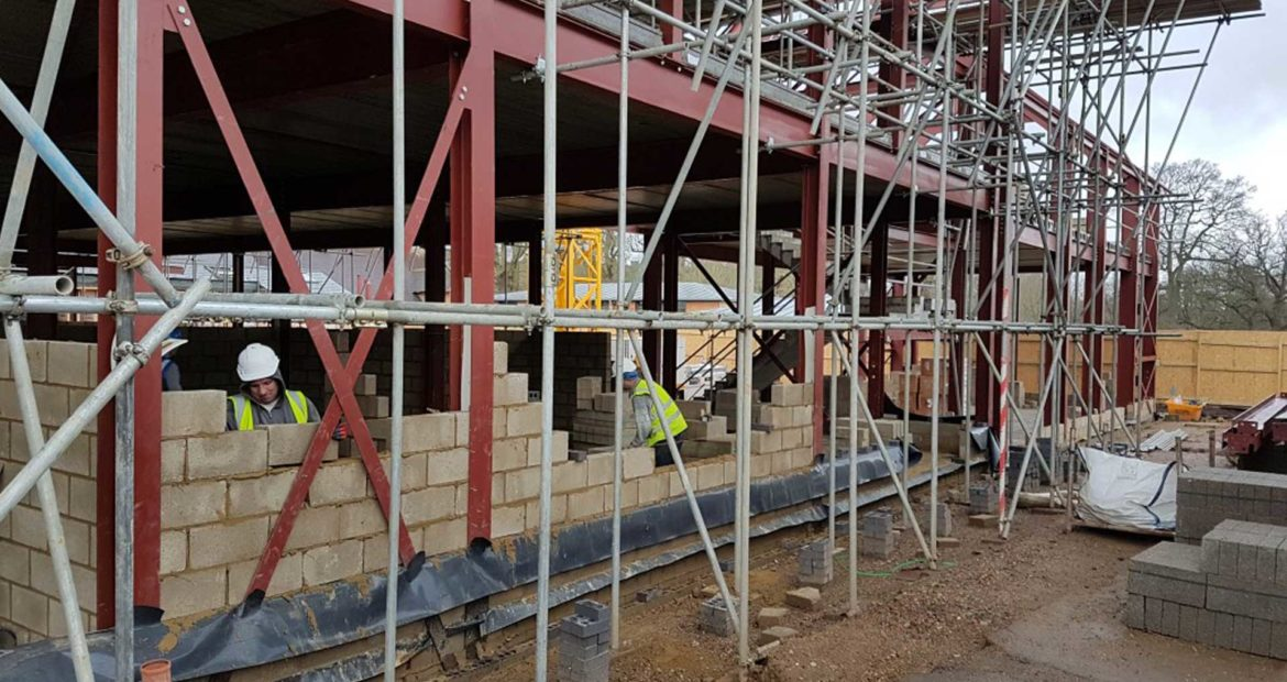 Lambrook School Construction phase