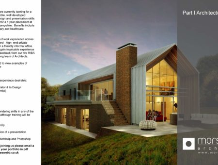Recruitment Opportunities at Morse Webb Architects