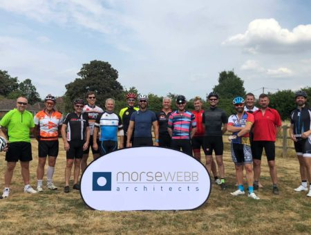 Morse Webb & Francis Construction Tour de Berkshire Cycle Event