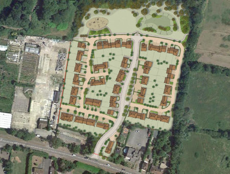 Planning Application for 81 New Homes