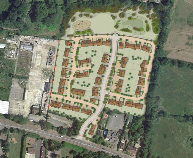 Planning application Goff's Oak