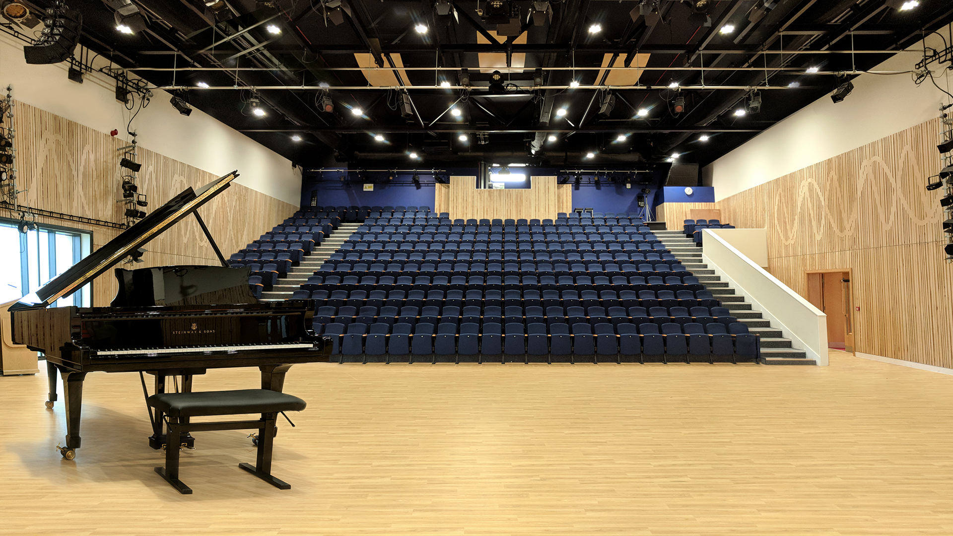Auditorium architecture for King Edward's school