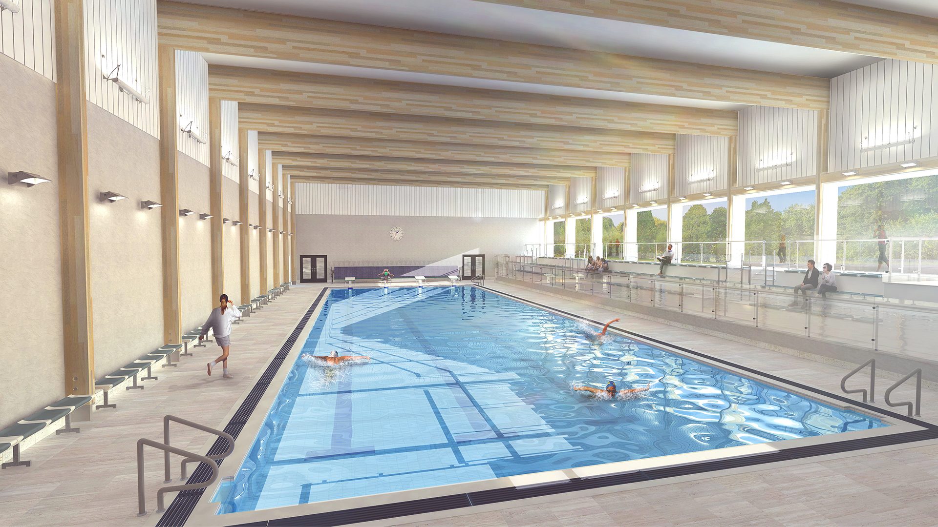 Artists impression of Senior School Swimming Pool extension